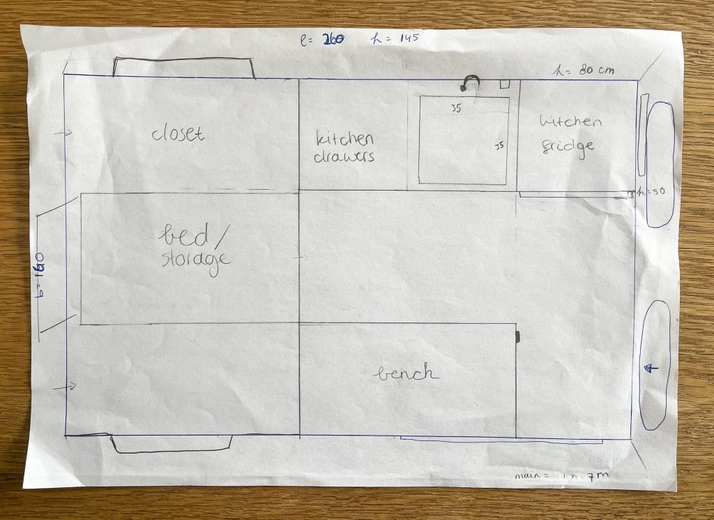 Create your perfect Camper Layout
